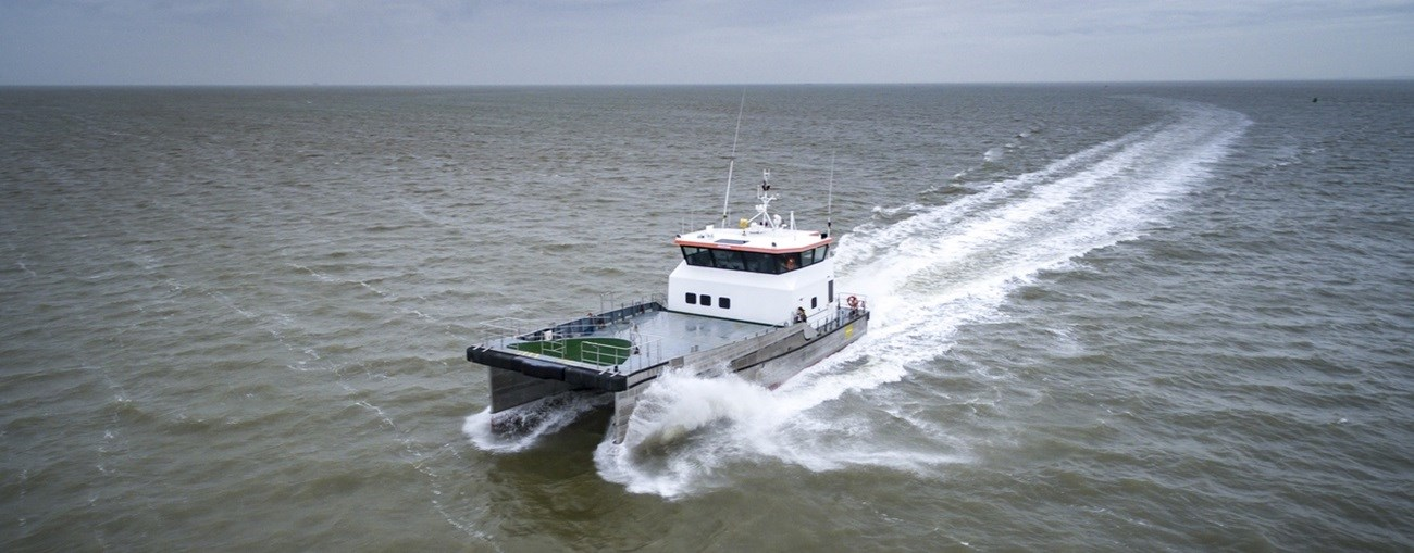 Crewboat for charter from Damen Marine Services
