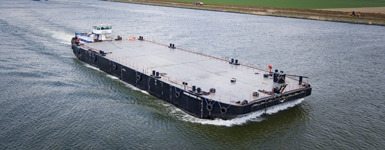 Damen Stan Pontoon 6020 'Damen Barge 102'