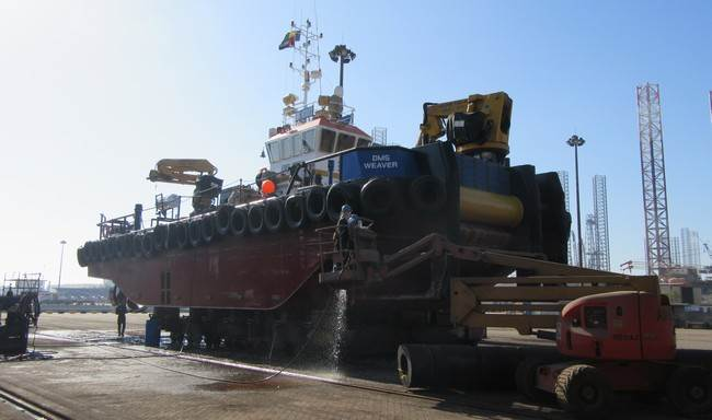 "Today we sold the Multi Cat 2409 ""DMS Weaver"" from Damen Marine Services B.V."