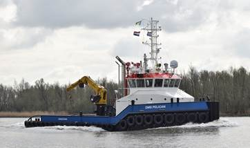 Damen Marine Services offers vessels for charter and purchase with