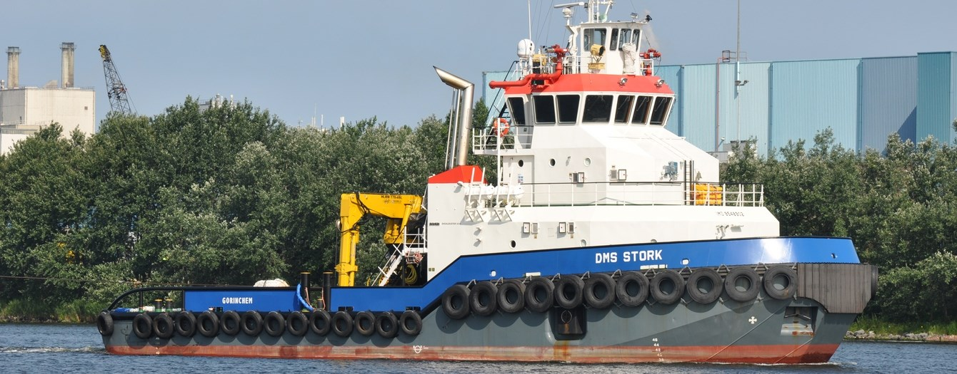 Damen Marine Services offers multi-purpose workboat for charter for harbours, inland and coastal waters.