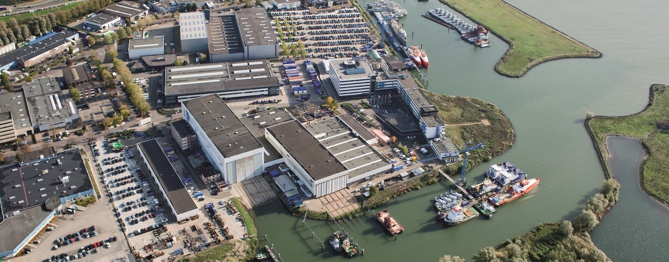 Damen Shipyards Gorinchem is the headquarters of the Damen Shipyards Group.