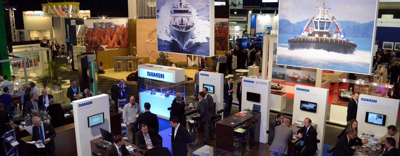 "This year we were present again at the ""Europort"" exhibition in Rotterdam."